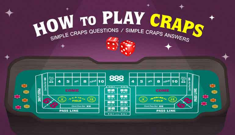 Betting numbers in craps