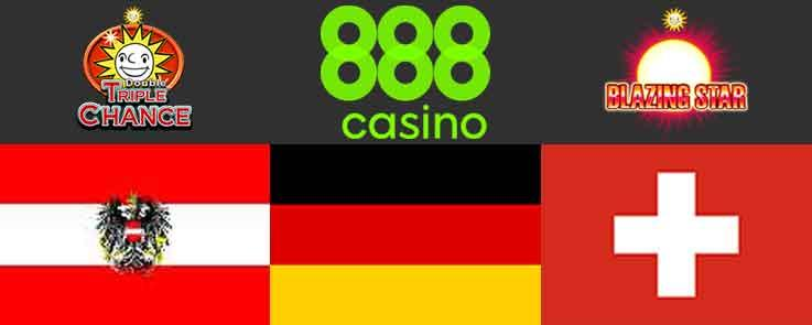 Merkur Games Go Live at 888casino in Germany, Austria and Switzerland