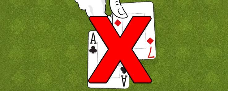 Common Mistakes of Playing Soft 18 in Blackjack