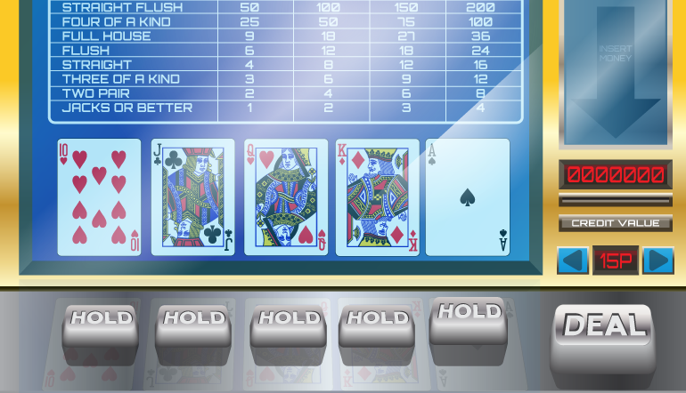 Video Poker Straights