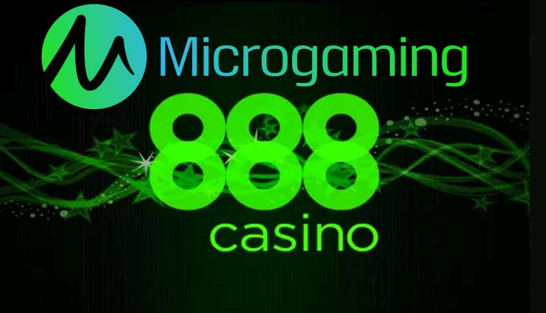 Microgaming's award-winning games go live with 888 Casino