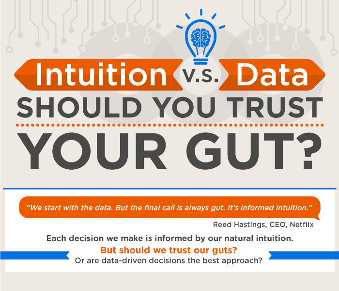 Intuition vs Data - Should You Trust Your Gut
