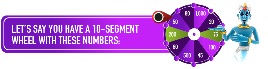 10 segment wheel