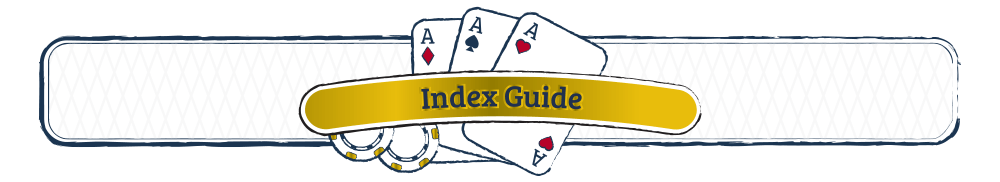 3 Card Poker Index Guide