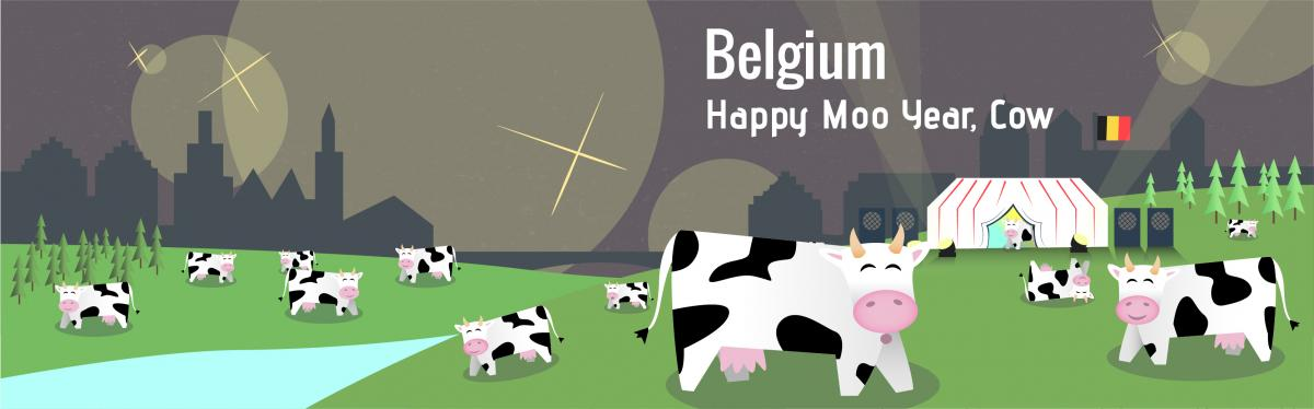 Belgium new year's traditions