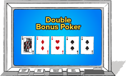 MULTIPLE PLAY DOUBLE BONUS POKER