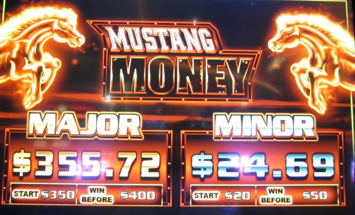 Mustang Money Slot Machine
