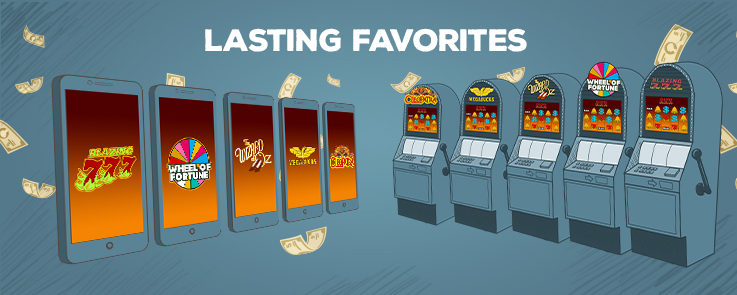 Lasting Favorites at Slots - Online vs. Land-Based