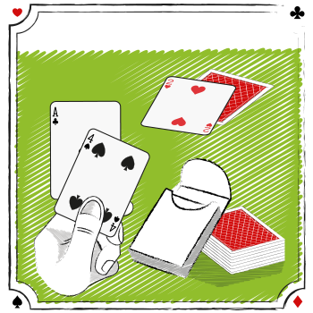 PRACTICE WITH A DECK OF CARDS