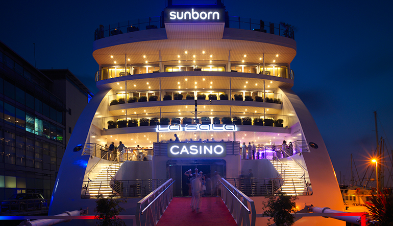 Sunborn Superyacht Hotel and Casino Ship