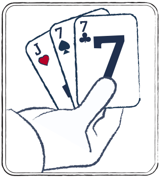 Ultimate three card poker