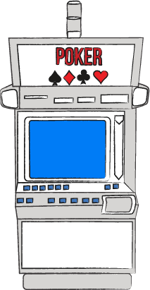 Complex inner working of video poker