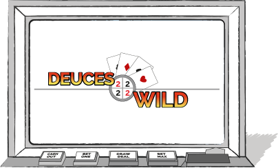 Video Poker - Deuces Wild