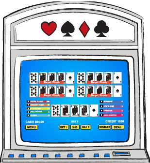 Multiple play video poker