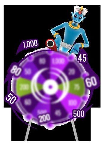 Wheel spins