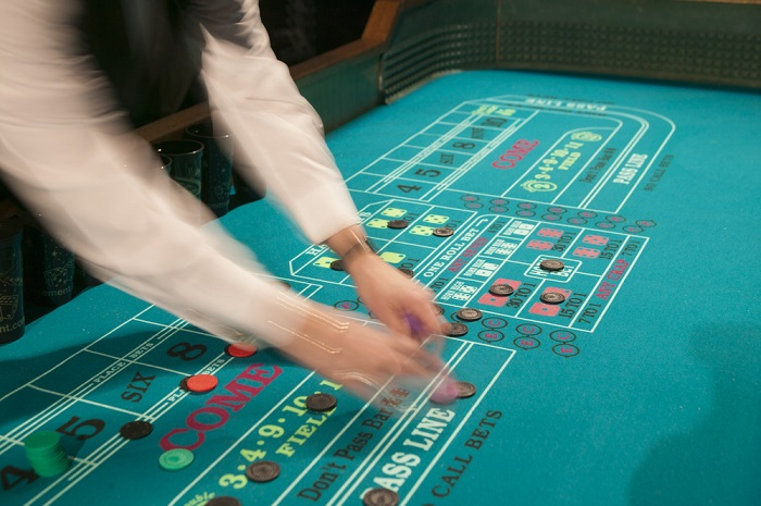 Croupier in Action