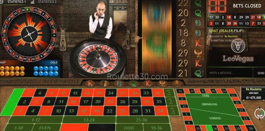 extreme live gaming roulette