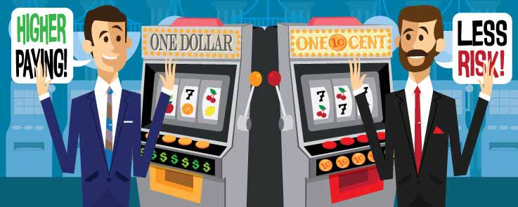 Slot Tips: Higher Denomination Slots Have Higher Payback Percentages
