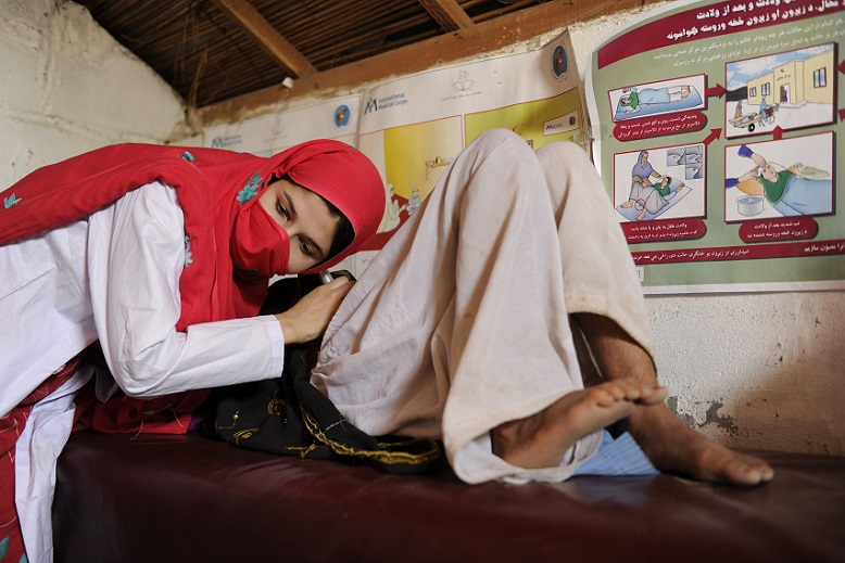 Midwife in Afghanistan