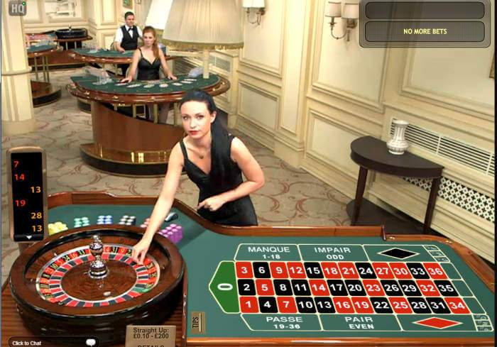 playtech live dealer roulette