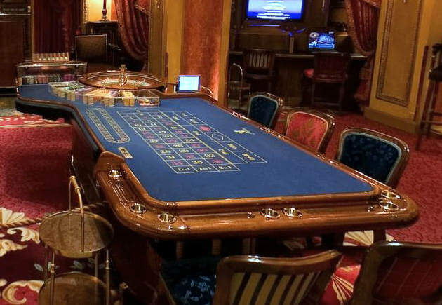 roulette table ritz casino