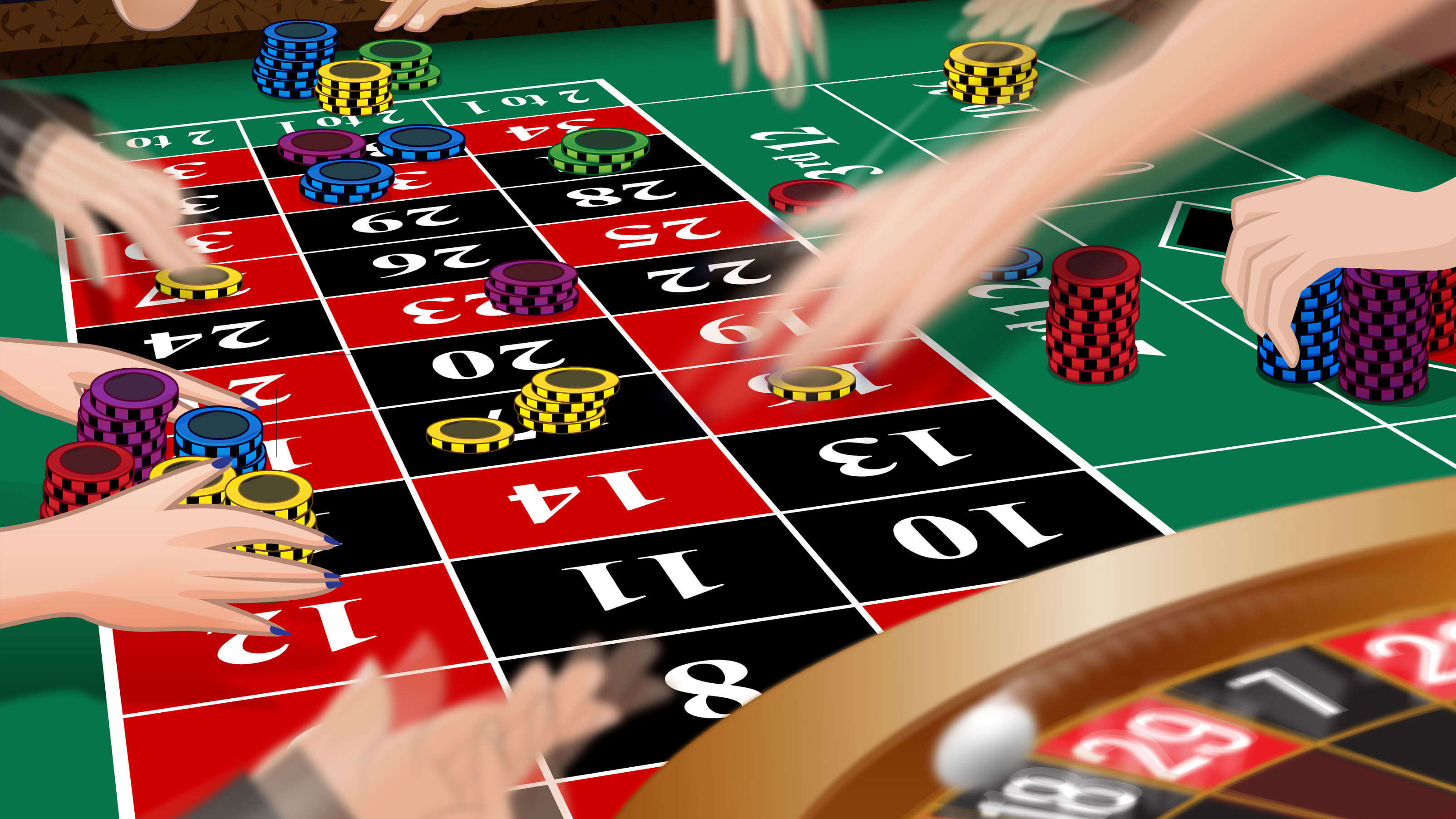 The Big Number Trick at Roulette