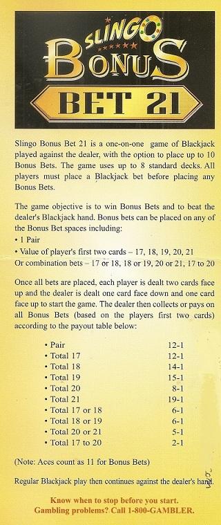 Foxwoods blackjack rules