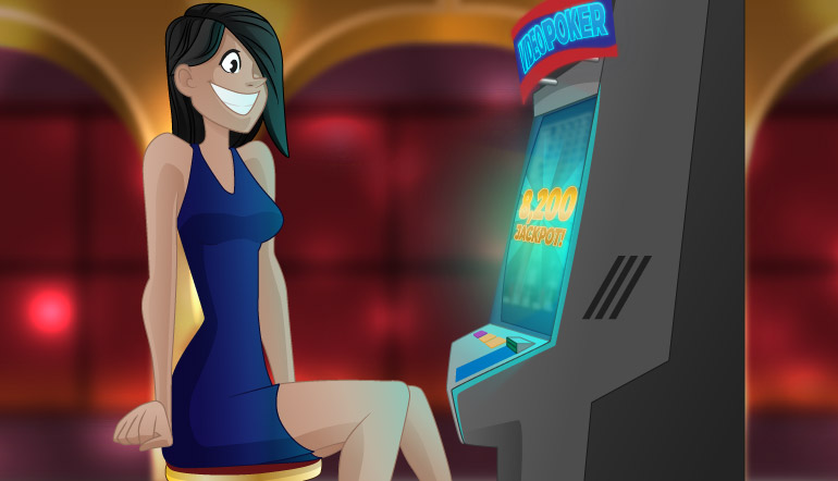 A Video Slots Player