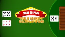 How to Play 16 vs. 10 in blackjack