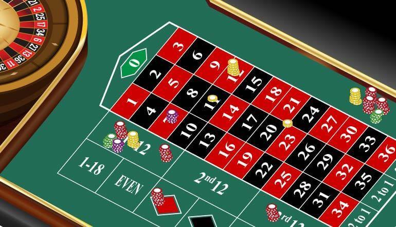 Betting the Numbers at Roulette
