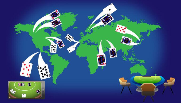 Playing Blackjack Around the World